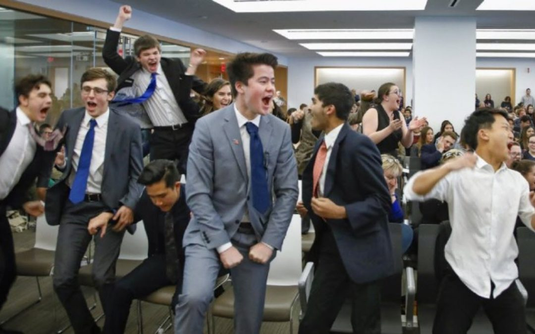 High school 'lawyers' argue their way through mock trial competition