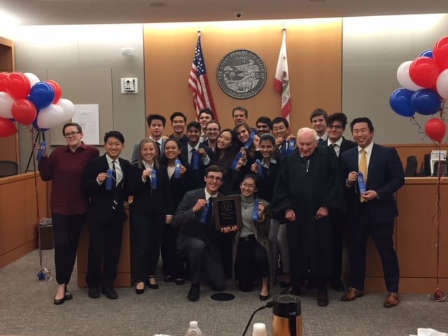 Westview High School Wins 13th Annual Mock Trial Competition